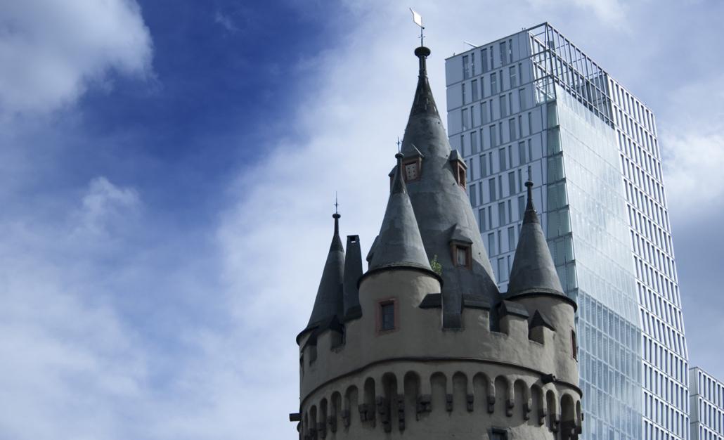 Eschenheimer Turm Frankfurt Palaisquartier